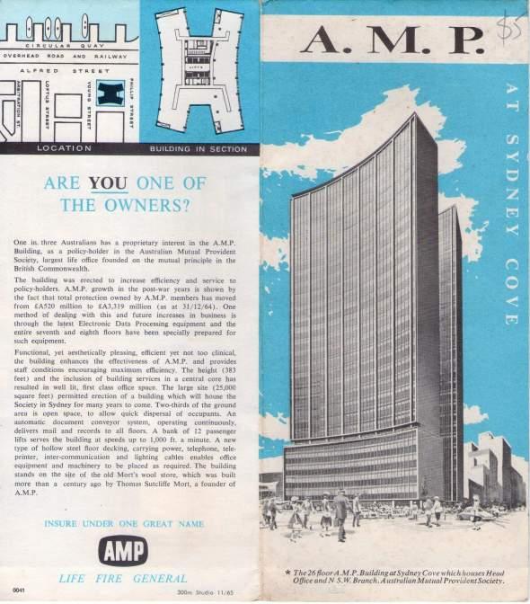 AMP pamphlet front