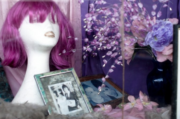 A previous Marie Louise window display from 2007, photo by Alex Davies.