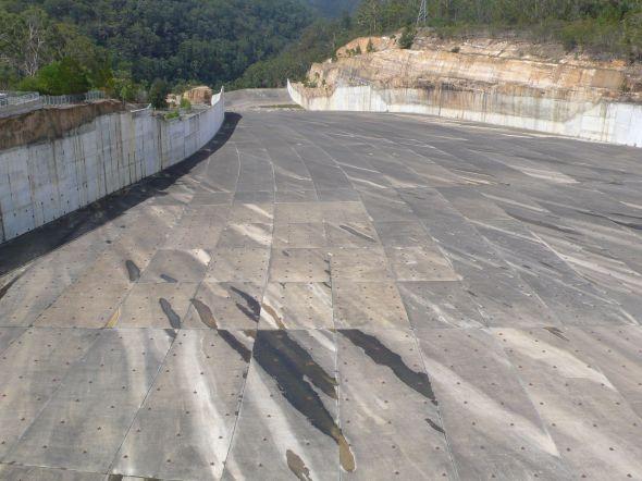 Warragamba spillway