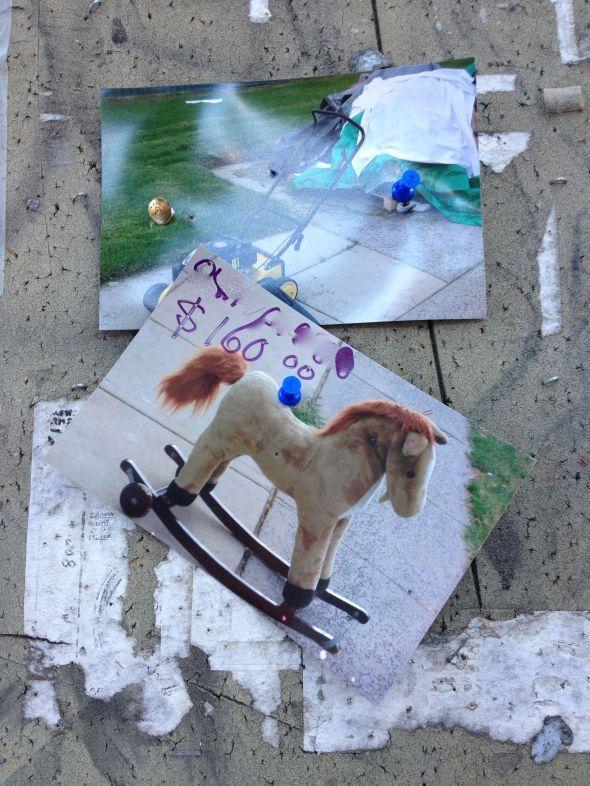 Noticeboard Rocking Horse 1