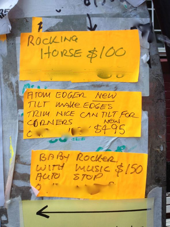 Noticeboard Rocking Horse 3