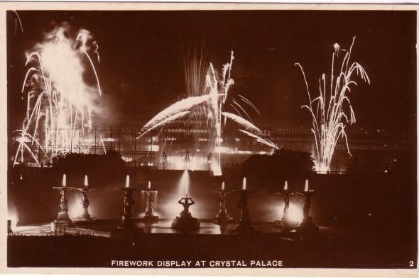 fireworks crystal palace