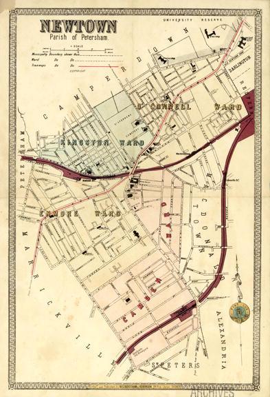 Newtown Atlas of Suburbs