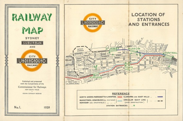 railway map 1939