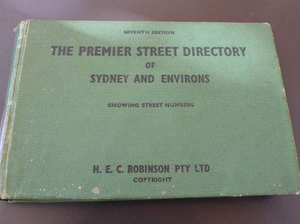 Robinsons Street Directory
