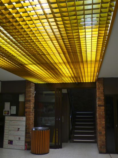 cottage lane yellow lights