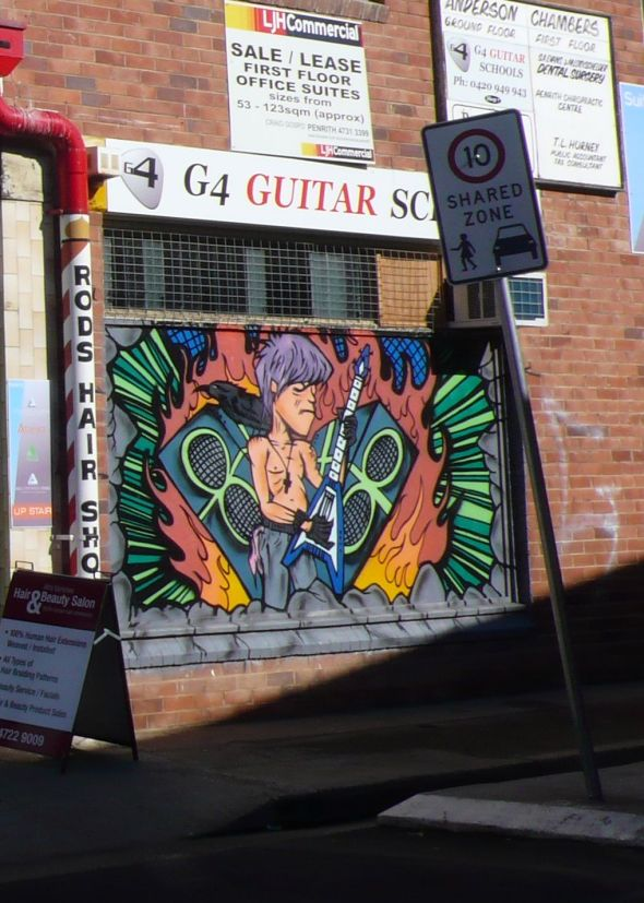 G4 guitar penrith