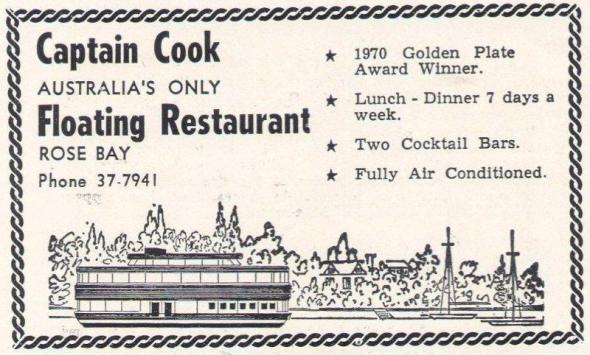 Captain Cook Floating Restaurant