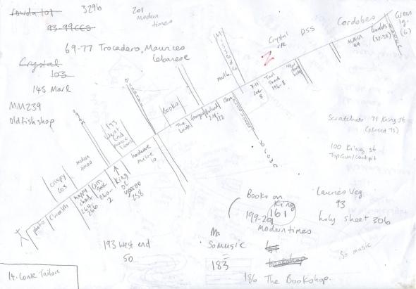 King Street Map Version 2