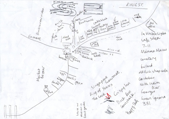 King Street Newtown Map Version 1