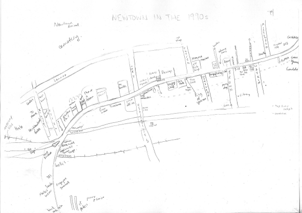 Newtown 90s map WIP