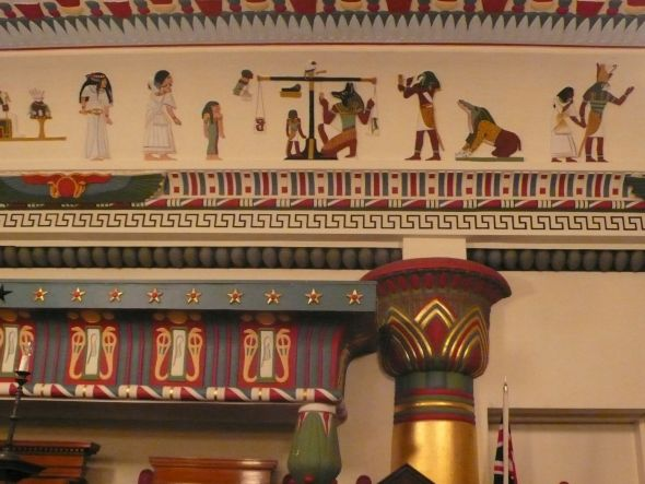 Ancient Egypt in Petersham: the Egyptian Room at the Masonic Centre