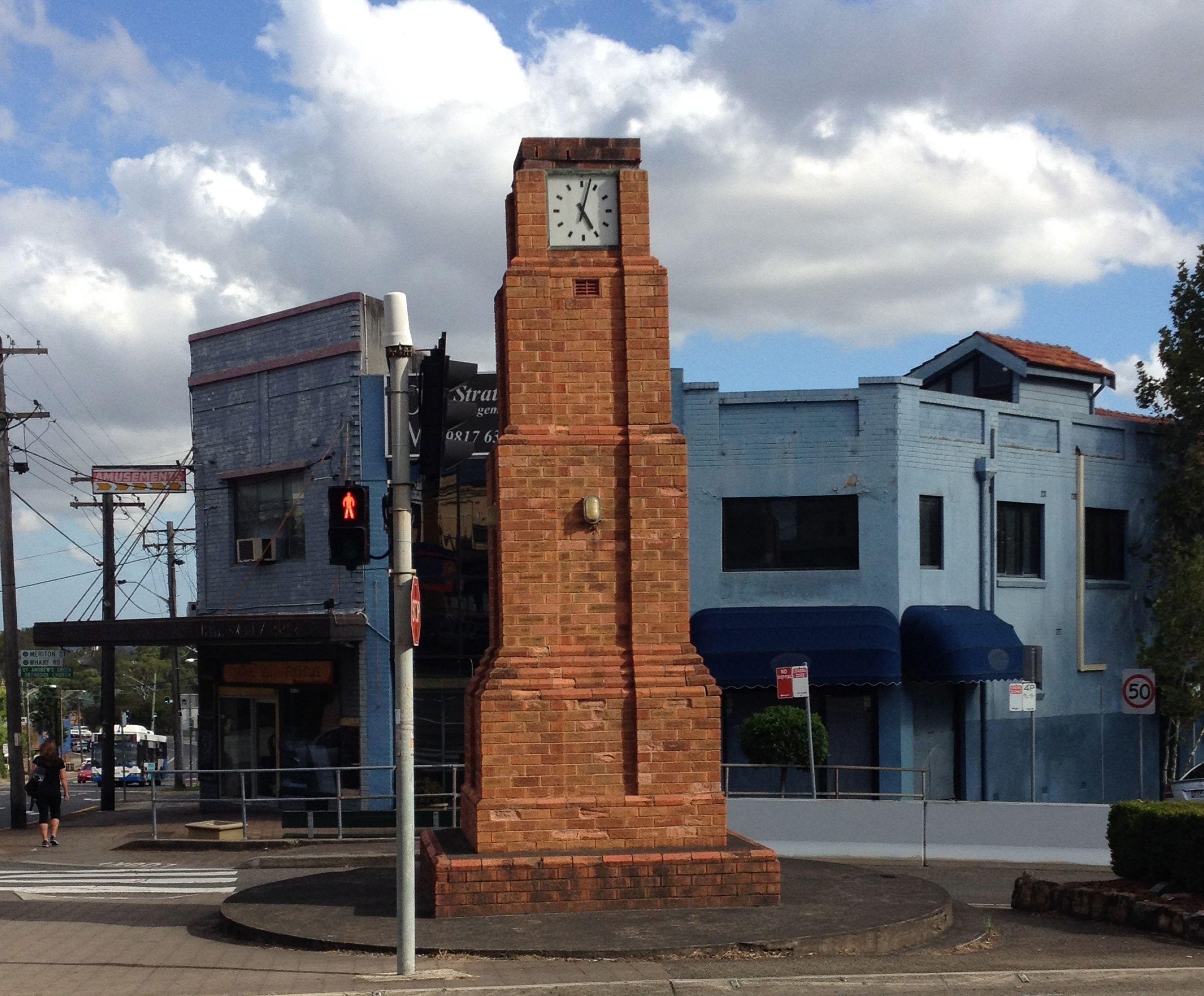 gladesville clock