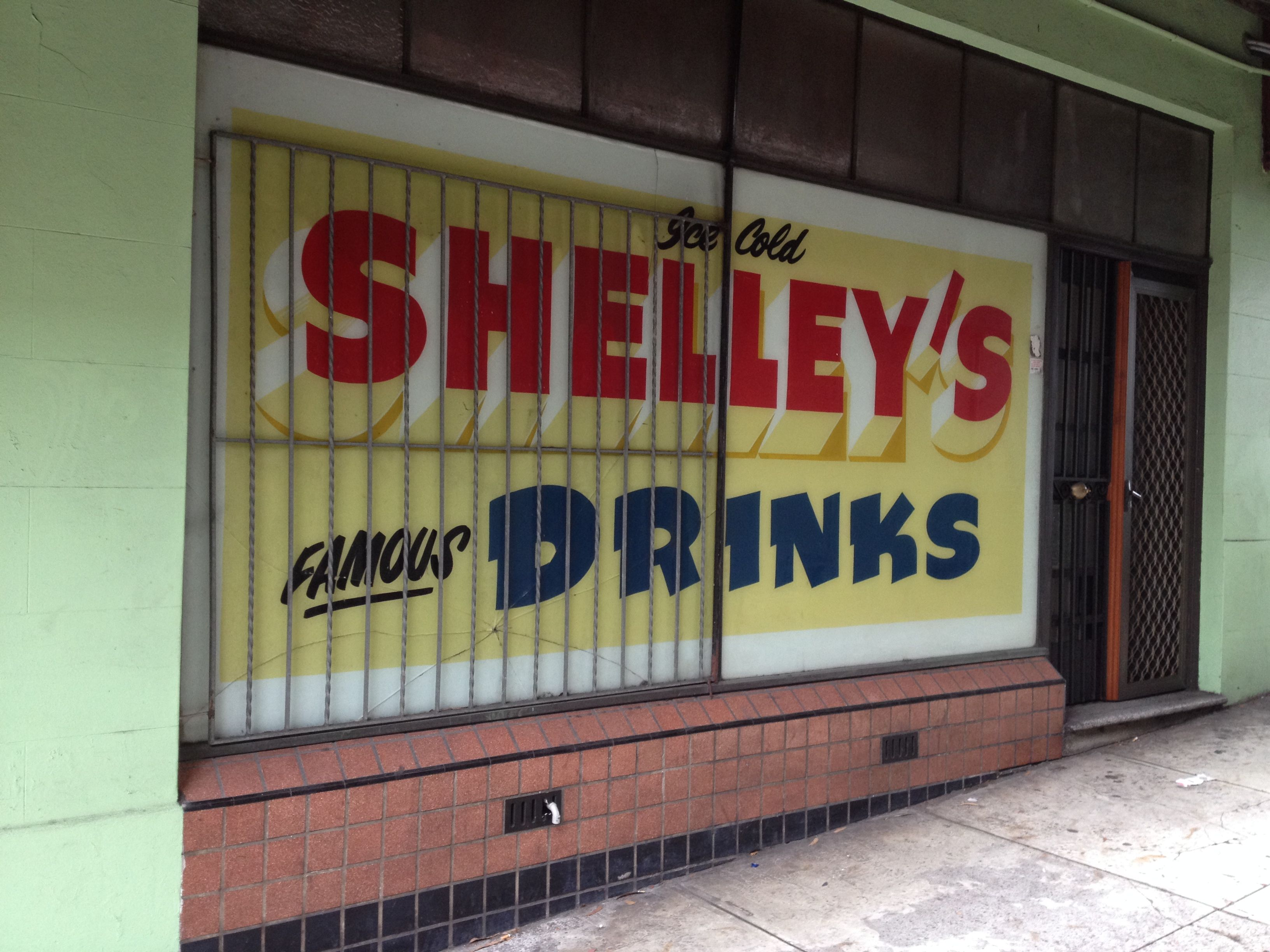 P Road Shelleys Drinks
