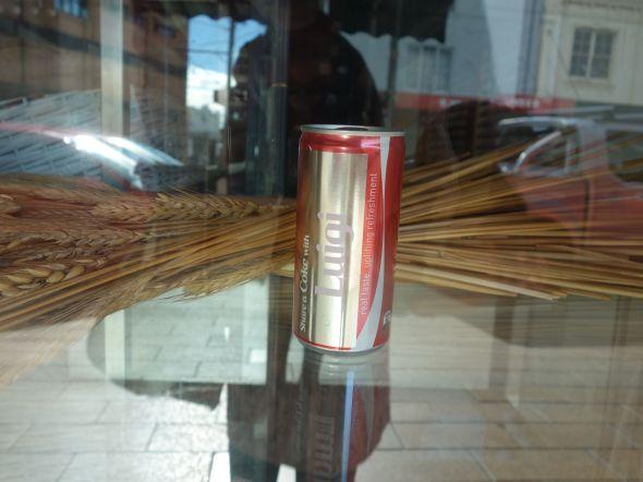 Luigi Coke Can