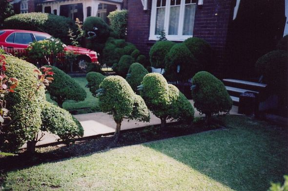 Topiary Monsters