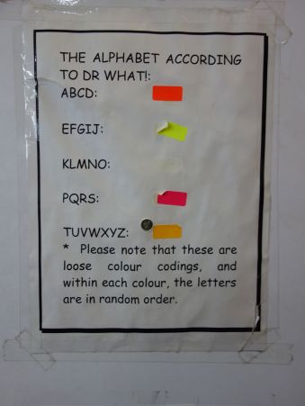 Dr What Alphabet