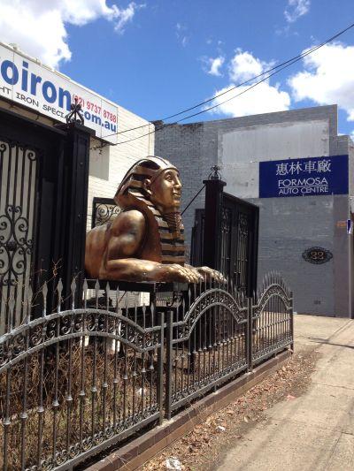 Parramatta Road Sphinx