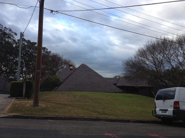 Pyramid House Turramurra
