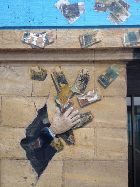 Mac Mural Banknotes