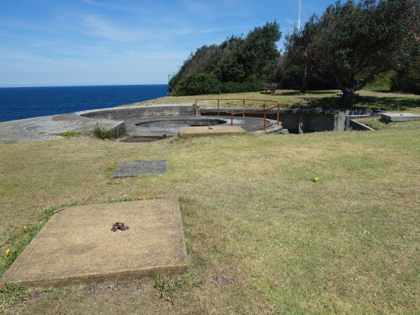 South Head Gun Pit