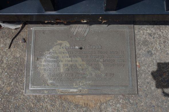 Johnstons Plaque
