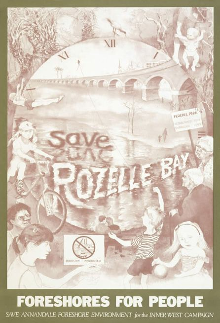 Susan-D-White-Save-Rozelle-Bay-Campaign-Poster