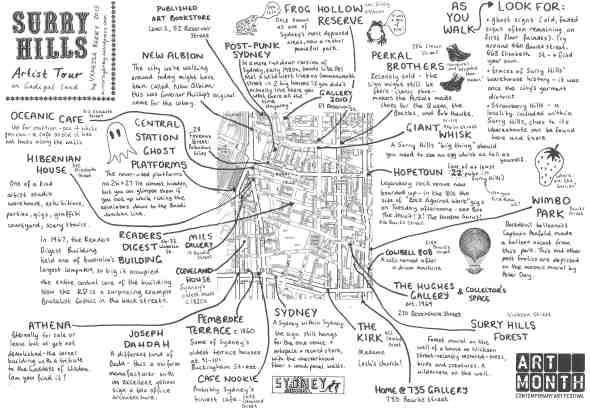 Vanessa Berry Surry Hills Map web