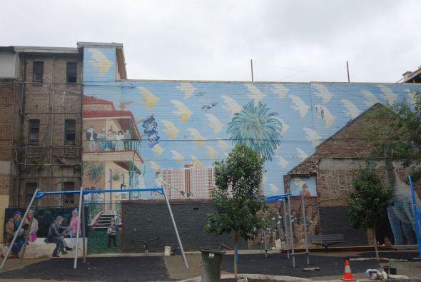 Dino Mural 1