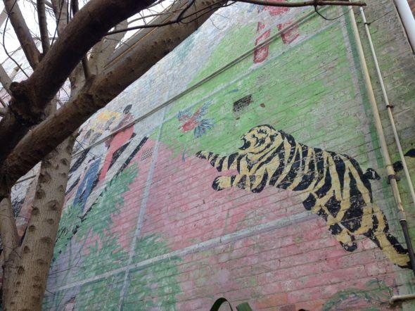 Rozelle Mural Tiger