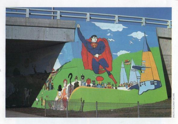 Seven Hills Mural 1979