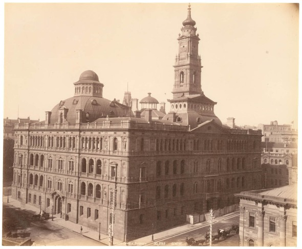 Lands Department Building in the 1890s, State Library of NSW.