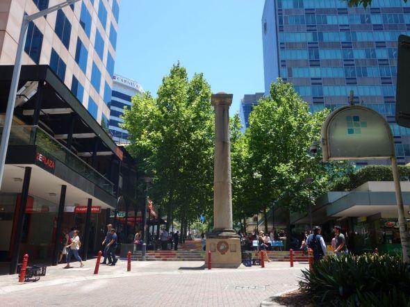 North Sydney columns
