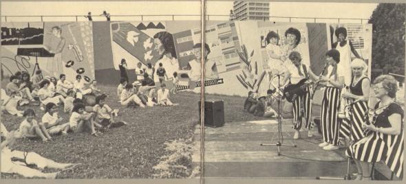 Domain Womens Mural Opening