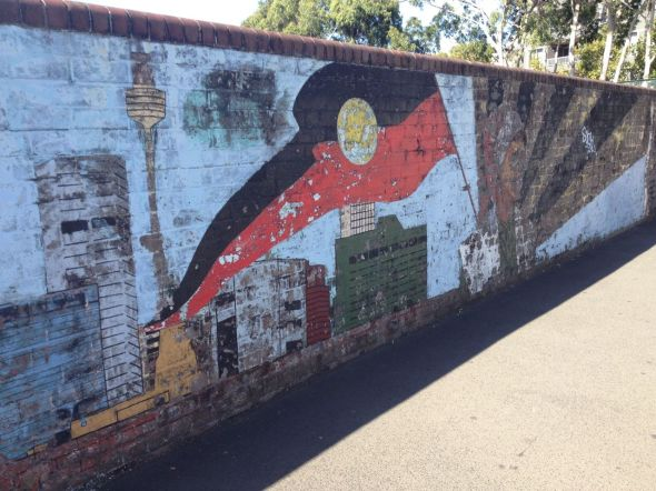 Redfern Mural Flag