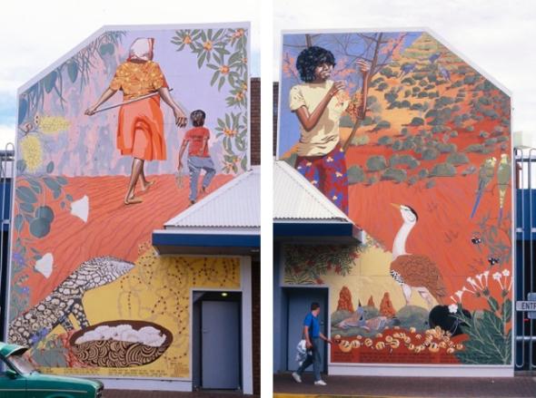 Ruff Murals Alice Springs