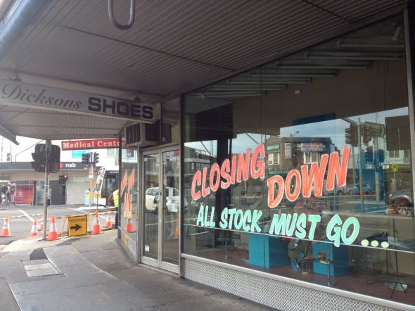 dicksons-closing-down